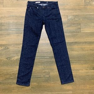 AG Adriano Goldschmied Stevie Dot Ankle Skinny 25